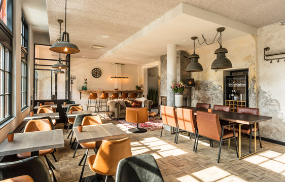Brasserie Coffee and More in Hotel Bleecker - Bloemendaal